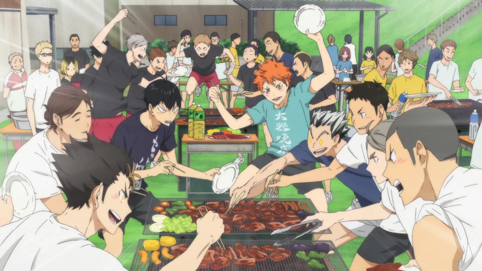Tokyo Training Camp arc in Season 2 of Haikyuu!! Photo from Production I.G
